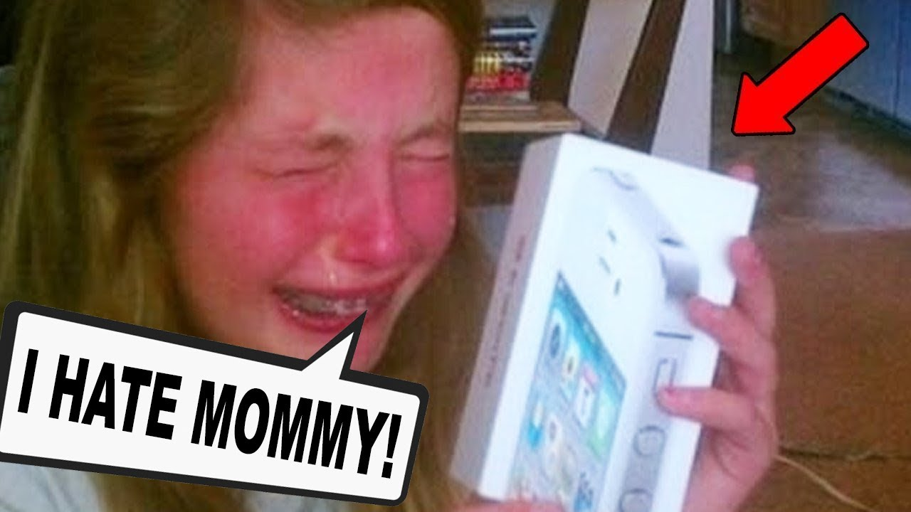 10 Spoiled Kids Reacting To Christmas Presents!