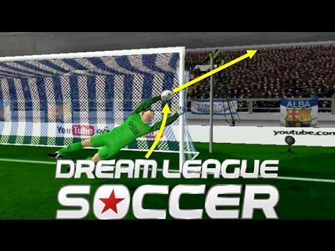 Las mejores atajadas en Dream League Soccer