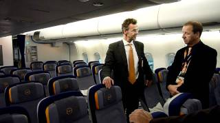 lufthansa a380 economy class cabin tour hd video lha380 avgeek