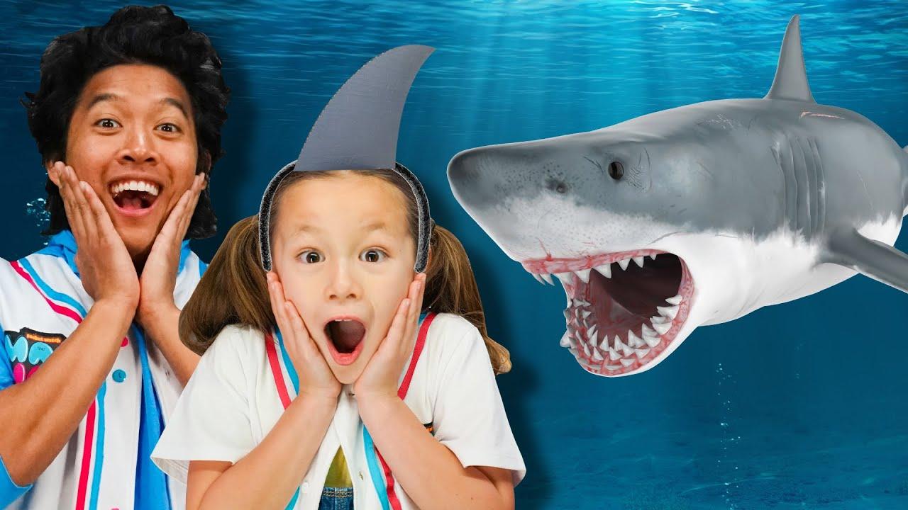SHARKS and Crafts! DIY Shark Slime & Arts and Crafts for Kids