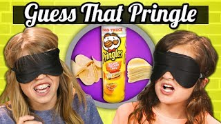 Download GUESS THAT PRINGLES CHALLENGE!   Kids Vs. Food Mp3 and Videos