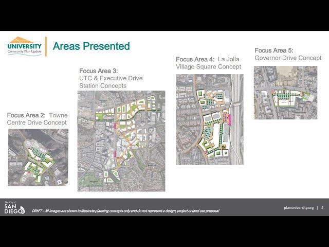 University CPU - Public Meeting -  April 20, 2021 - Urban Design Concepts II