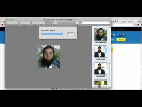 How to turn multiple images into one pdf mac
