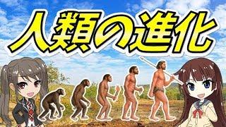 【人類の進化】誕生の歴史解説(まったり・ゆっくり解説)