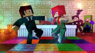 Minecraft: Namorada Perfeita #02 - Festa Fantasia Na Escola !!