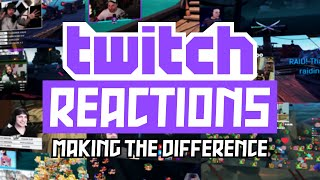 Twitch Raid Reactions! [MAKE TΗE DIFFERENCE] Twitch Stream Highlights