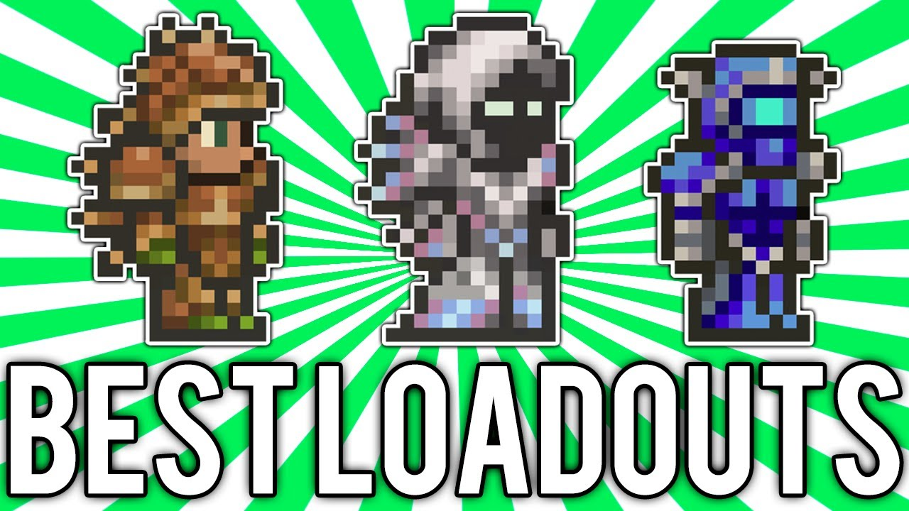 Terraria: BEST Armor, Weapons, and Accessories! (Magic, Melee, & Ranged)  @demizegg
