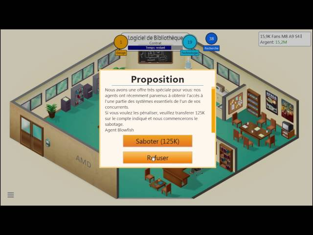 Sans Commentaire: Game Dev Tycoon Partie 5 1080P/60FPS