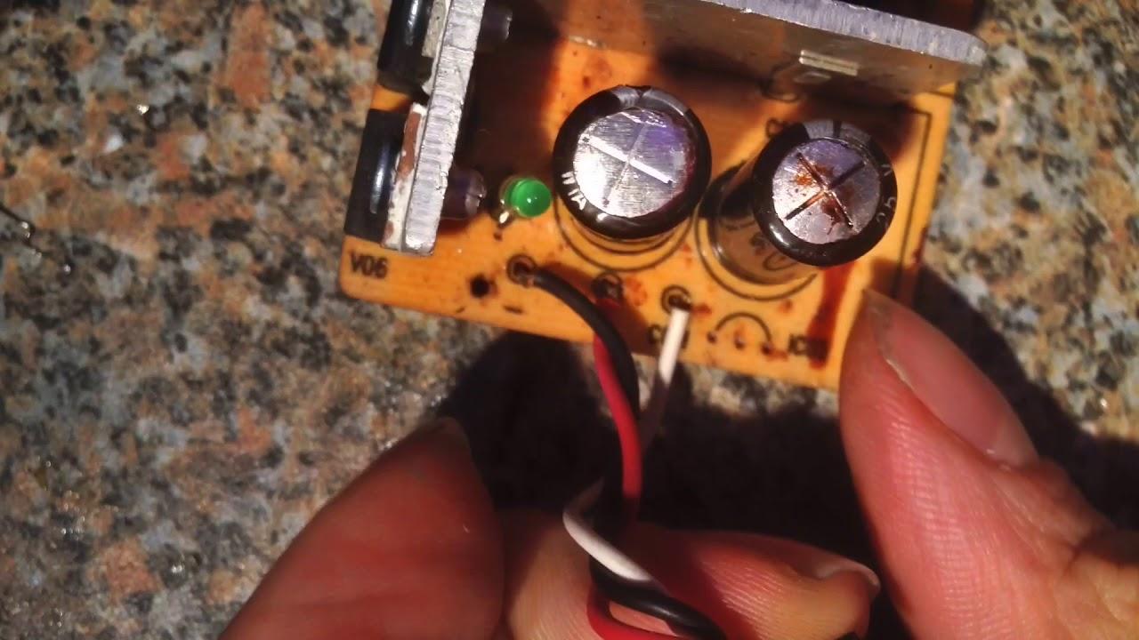 Rauchendes Laptop Netzteil reparieren - So gehts! - YouTube
