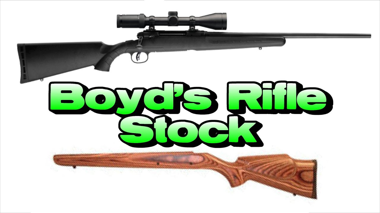 Boyds rifle stock review savage axis youtube sciox Images