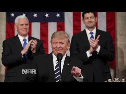Market Rallies Following President Trump's Speech