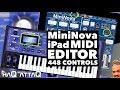 Novation MiniNova Synth Editor for iPad │ MIDI Designer Pro - haQ attaQ 308