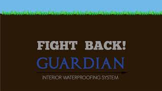 GUARDIAN® Interior Basement Waterproofing System | Footer Channel