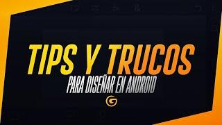 TIPS Y TRUCOS MUY BUENOS PARA DISEÑAR EN ANDROID!!!// Adobe Photoshop Touch- @dzn_gio