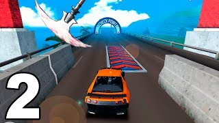 Speed Car Bumps Challenge #2 (by Tulip Apps) Android Gameplay Trailer