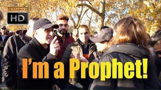 God sent you!? Mansur Vs Self proclaimed Prophet?   Old is Gold   Speakers Corner   Hyde Park