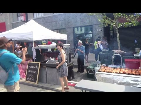 Celebrating the Food - H Street Festival 2016 Washington, DC