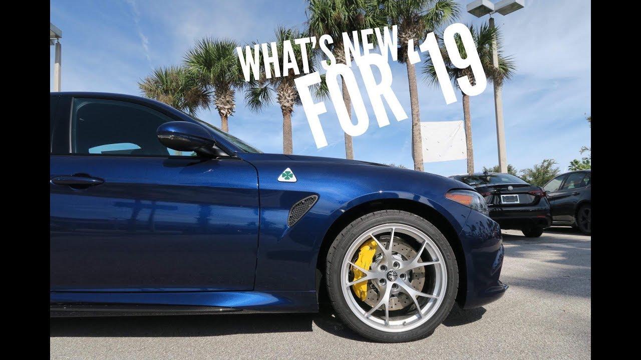 The 1st And Cheapest 2019 Alfa Romeo Giulia Quadrifoglio Youtube