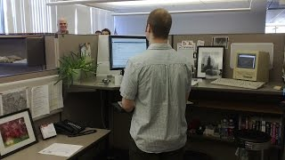 Trying To Lose Weight? That Standing Desk Isn't Helping Much