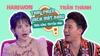 """Trấn Thành, Hari Won - """"cặp vợ chồng của năm"""" liên tục vạch mặt nhau trên sóng truyền hình"""