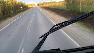 Мурманская трасса кола ремонт дороги между Лоухи и Кемь. Полный участок ремонта дороги удалось снять
