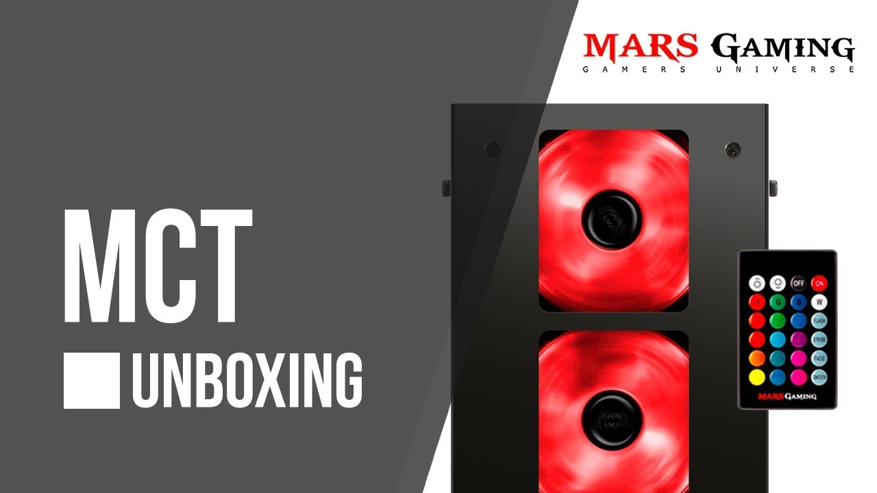 3a989b7244 MCT Compact gaming case - Unboxing   Mars Gaming - YouTube