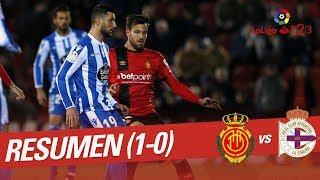 Resumen de RCD Mallorca vs RC Deportivo (1-0)