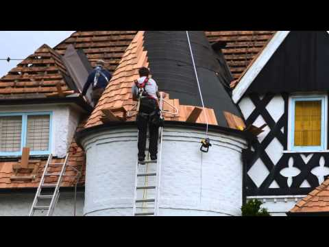 Turret Roof Difficulties - Absolute Roof Solutions - Vancouver - YouTube
