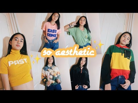 [VIDEO] - SO AESTHETIC Try-On Clothing Haul (Philippines) | Princess And Nicole 5