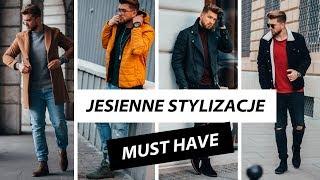 JESIENNE MĘSKIE STYLIZACJE - MUST HAVE - Lookbook