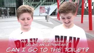 Billy Elliot Cast Attempt Irish Sayings