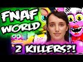FNAF WORLD SECRETS & MYSTERIES w/ Cleverbot EVIE | 2 KILLERS? | Five Nights at Freddy's World Secret
