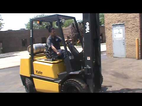 FORKLIFT FOR SALE #26733, 2004 Yale GLP060