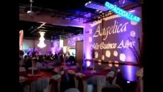LED UP LIGHTING, GOBO NAME AND PICS OF QUINCEANERAS AND WEDDINGS EVENTS. Mas info 2l4 8nine3 7627