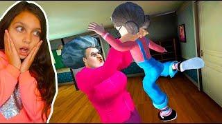 МИСС ТИ хочет ПИ ПИ! Учительница ПОЙМАЛА НАС ДЕЛАЮ КОНЦОВКУ против Miss T Scary Teacher 3D Валеришка