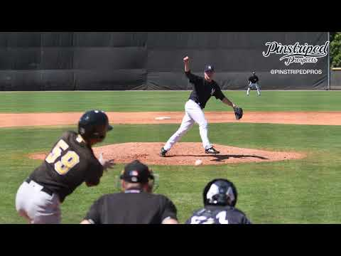 Erik Swanson, Right Handed Pitcher, MiLB Spring Training, March 16, Home Plate View