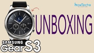 Samsung Gear S3 CLASSIC - Unboxing, set up, walkthrough and impressions