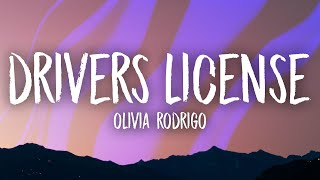 Download Olivia Rodrigo - drivers license (Lyrics)