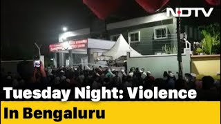 Violence Breaks Out Over Alleged Facebook Post In Bengaluru