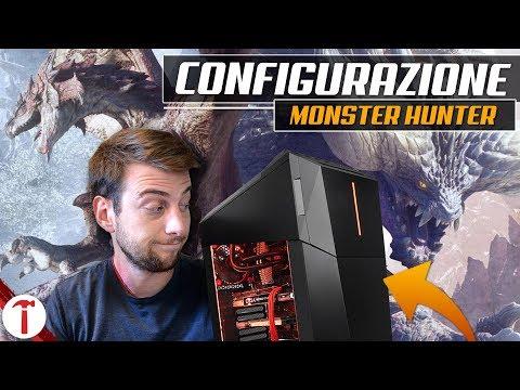 Configurazione PC ideale per giocare a Monster Hunter: World