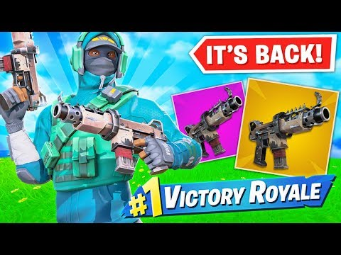 The TACTICAL SMG is BACK!