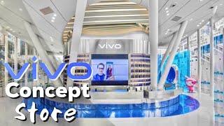 The super cool and futuristic VIVO Concept Store in Shenzhen China