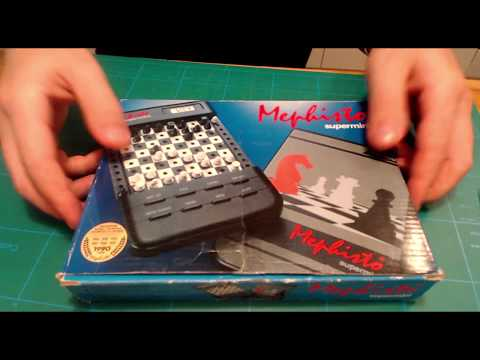 Mephisto Supermini chess computer repair and restore