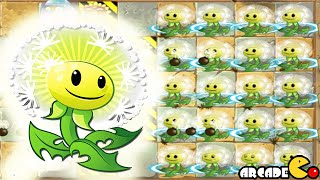 Plants Vs Zombies 2: New Plants Dandelion Level Up (China Version)