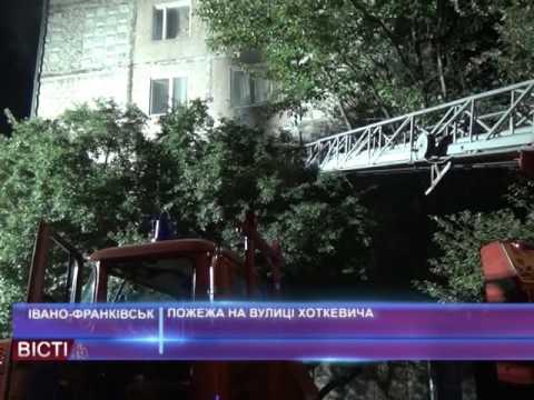 Пожежа на вулиці Хоткевича