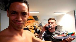 Santos 3 x 1 Fluminense | BASTIDORES | Brasileirão (04/10/15)