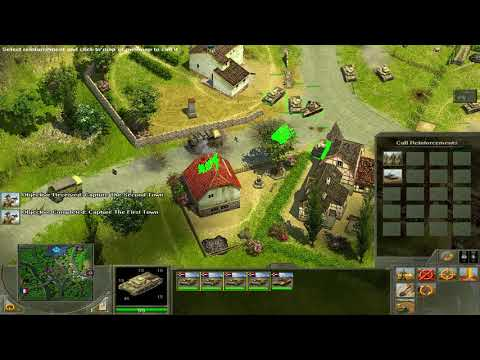 Blitzkrieg 2 anthology (2005) Mission 1: In Talon's Reach |