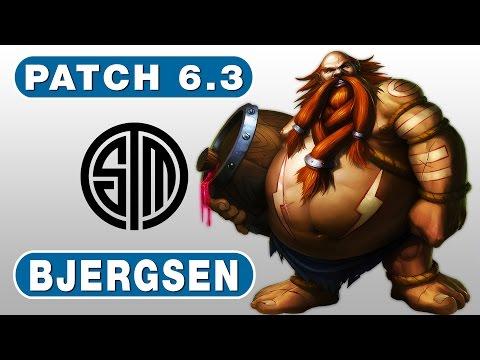 13. TSM Bjergsen - Gragas vs Vi - Jungle - February 22nd, 2016 - Season 6 Patch 6.3