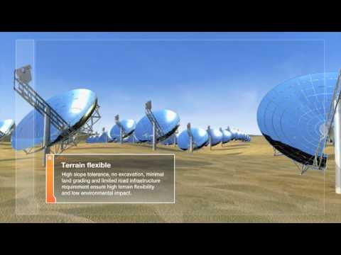 Solar Energy 3D Animation by Atticus Digital for Tessera Solar SunCatcher™