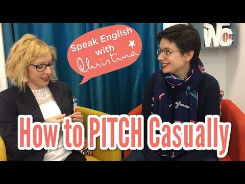 How to Pitch Your Business in Casual Conversations | Business English